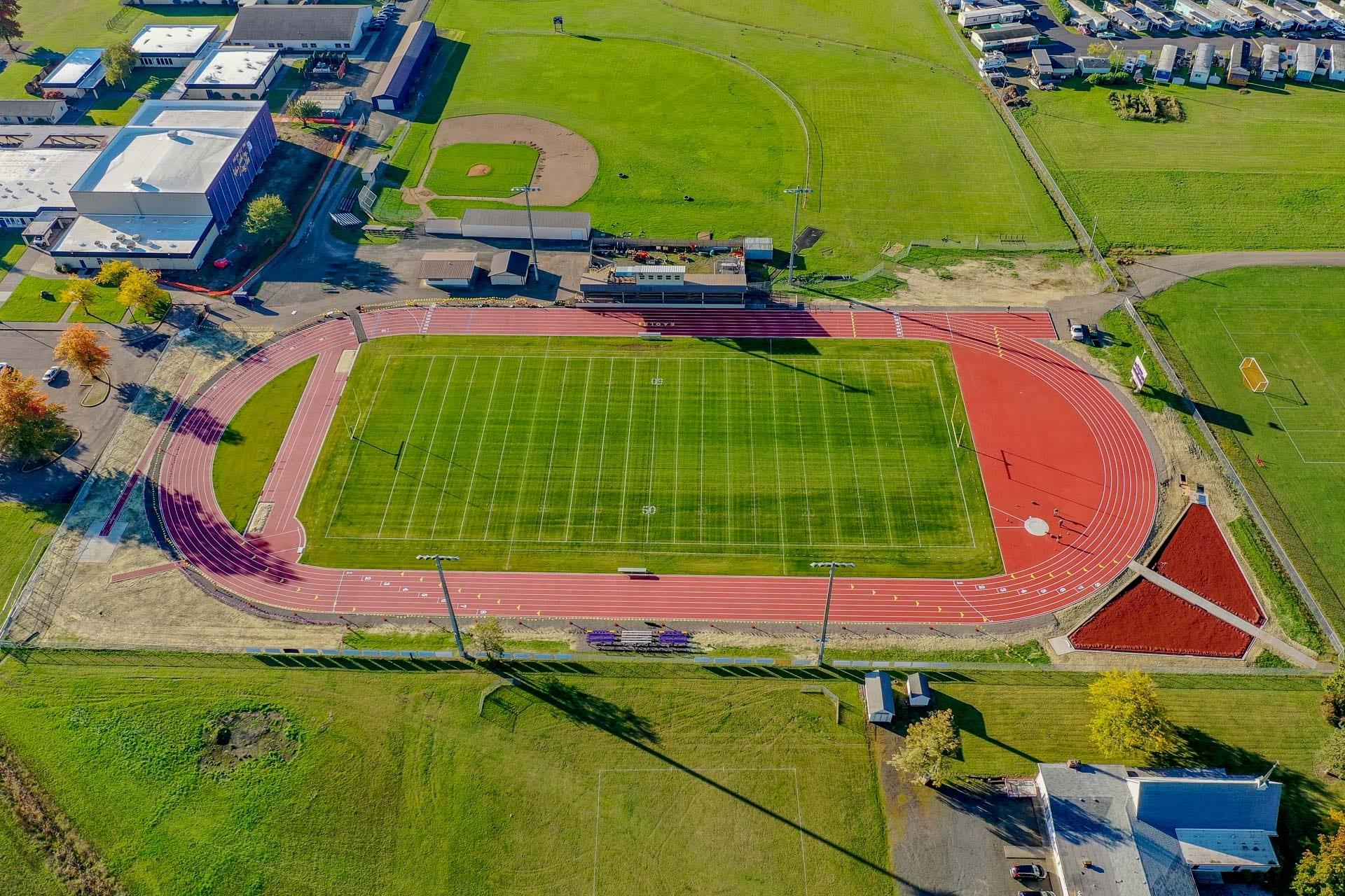 Harrisburg High School Track & Field Improvements