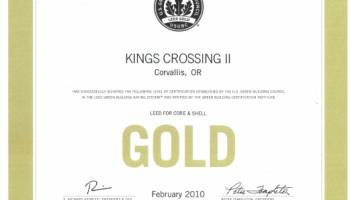 Kings Crossing II LEED Gold