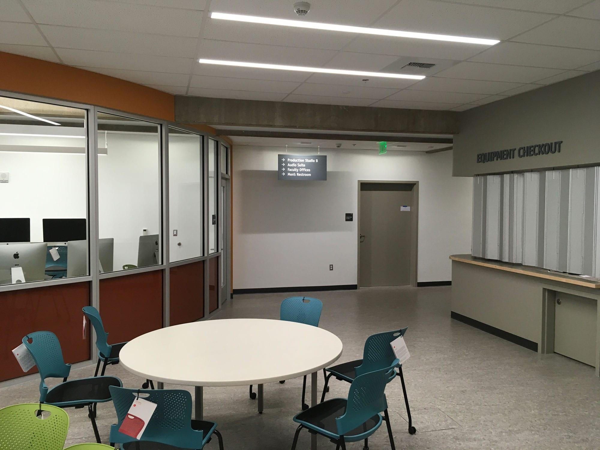LCC Building 18 Inside