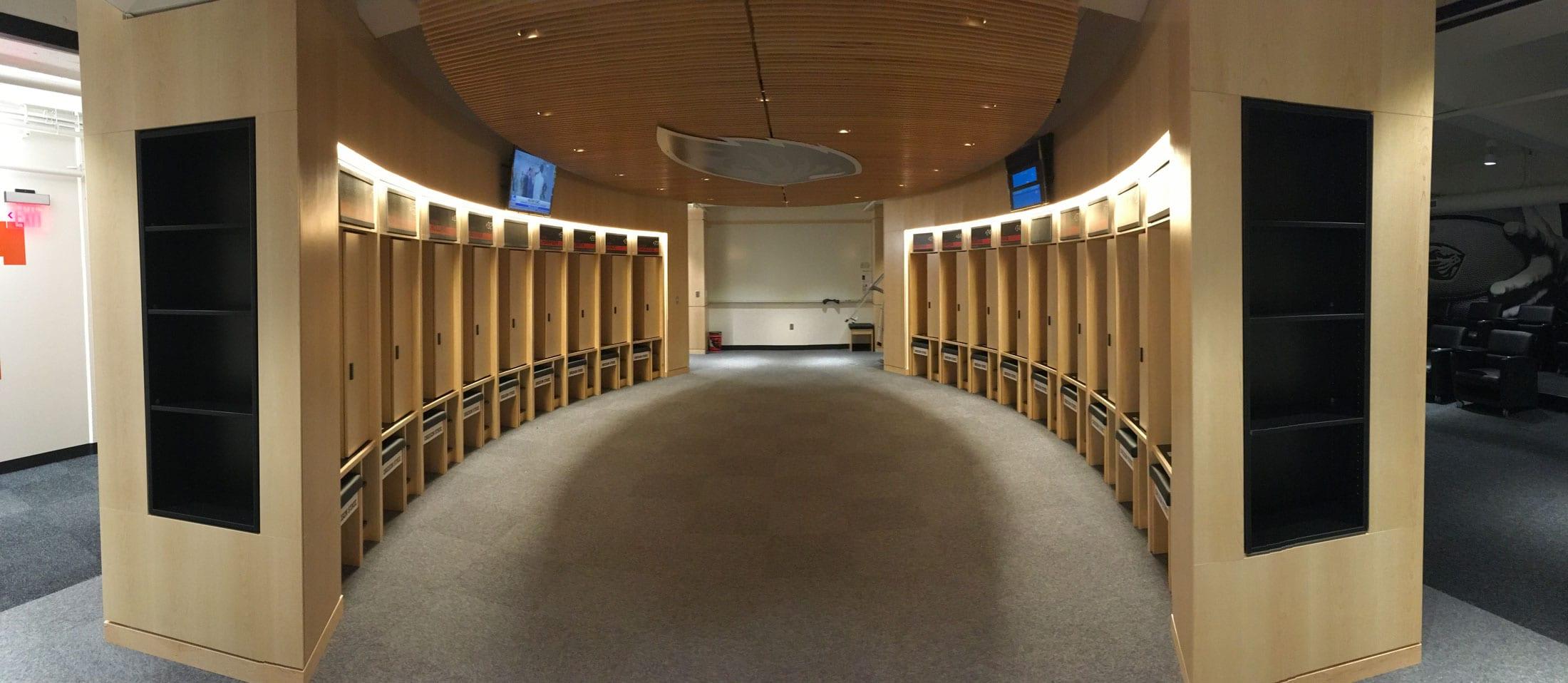 OSU Men's Basketball Locker Room Renovation